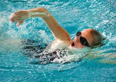 Svømning for øvede