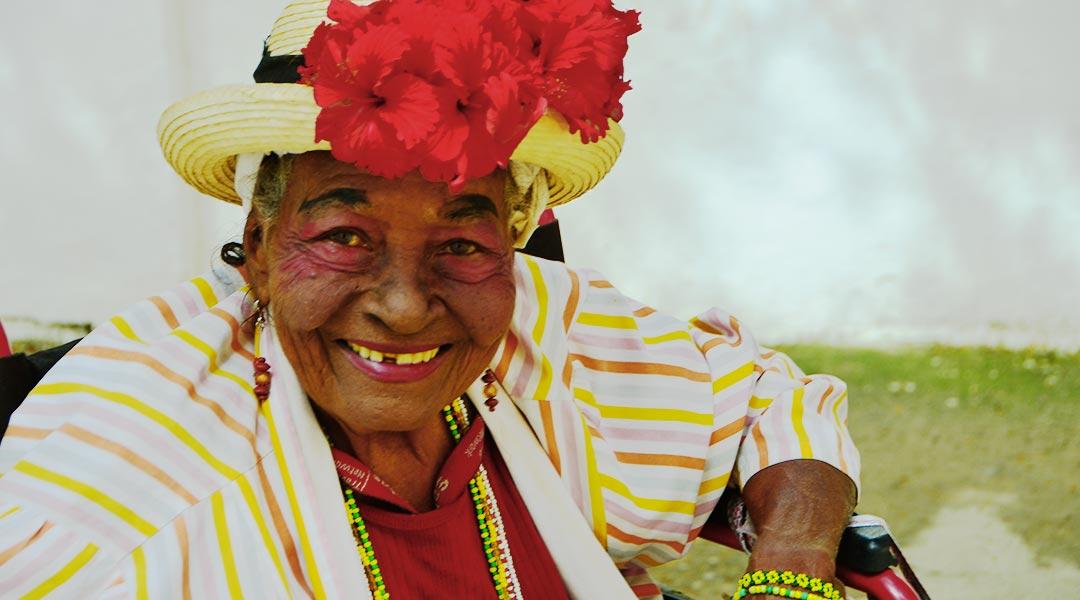 Spændende dame i Gamle Havana, Cuba. Foto: Bud Ellison (CC by 2.0)