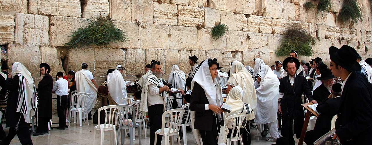 Palaestina jøder ved grædemuren