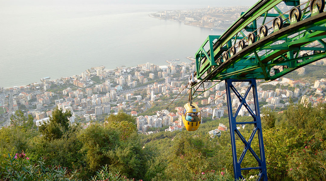 Svævebane Libanon web
