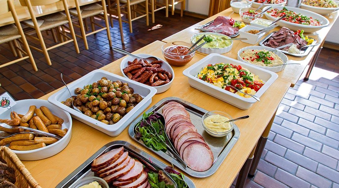 Køkkenets buffet